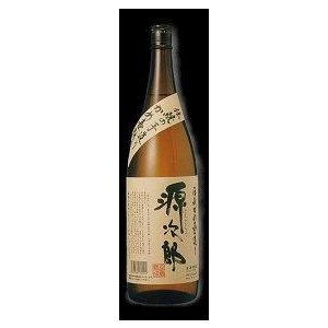 【ケース販売】 宮崎県:幸蔵酒造謹製 本格麦焼酎 伝承かめ壺造り 源次郎 25度 1800ml瓶 X 6本|sake-nishida