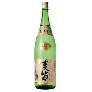 【ケース販売】 宮崎県:京屋酒造謹製 本格麦焼酎 麦笛 25度 1800ml瓶 X 6本|sake-nishida