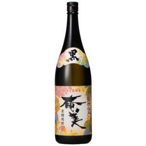 【ケース販売】鹿児島県:奄美酒類 黒糖焼酎 黒奄美 25度 1800ml瓶 X 6本|sake-nishida