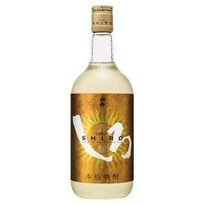 【ケース販売】 熊本県:高橋酒造謹製 本格米焼酎 謹醸しろ(金しろ) 25度 720ml瓶 X 6本|sake-nishida