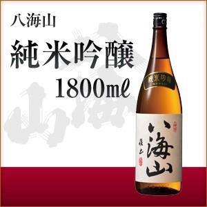 お歳暮 ギフト 日本酒 八海山 純米吟醸 1800ml/1.8L 純米吟醸酒 新潟県 一升瓶 御歳暮|sake-okadaya