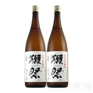 お歳暮 獺祭  純米大吟醸45 1800ml/1.8L 2本ギフト 宅飲み 家飲み|sake-okadaya