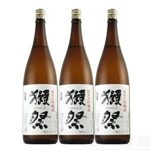 お歳暮 【送料無料】獺祭  純米大吟醸45 1800ml/1.8L 3本ギフト 宅飲み 家飲み|sake-okadaya