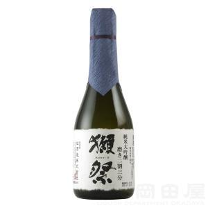 お歳暮 日本酒 獺祭 だっさい 純米大吟醸 磨き 二割三分 300ml 山口県 旭酒造 地酒ギフト 宅飲み 家飲み|sake-okadaya