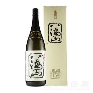 お歳暮 ギフト 日本酒 八海山 大吟醸 1800ml/1.8L 地酒 御歳暮|sake-okadaya