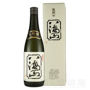 お歳暮 ギフト 日本酒 八海山 大吟醸 720ml 地酒 御歳暮|sake-okadaya