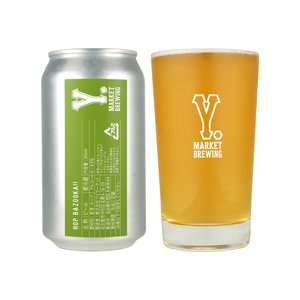 Y.MARKET Hop BAZOOKA!! ホップバズーカ!! クラフトビール 地ビール ワイマーケット ワイマーケットブルーイング BREWING 缶ビール ビール ギフト|sake-okadaya
