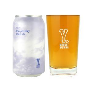 お歳暮 ギフト Y.MARKET Purple Sky Pale Ale パープルスカイペールエール クラフトビール 地ビール ワイマーケット 缶ビール ビール ギフト 愛知県 名古屋|sake-okadaya