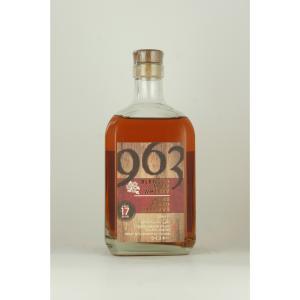 お歳暮 ブレンデッドモルトウイスキー963 ワインウッドリザーブ 17年 700ml|sake-okadaya