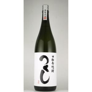 お歳暮 つくし 白 黒麹仕込 麦焼酎 1800ml|sake-okadaya