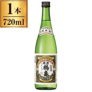 越後鶴亀 純米 720ml sake-premoa