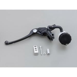 デイトナ D49015 NISSIN 左専用ブレーキマスターシリンダー横型 1/2インチ ブラック/...