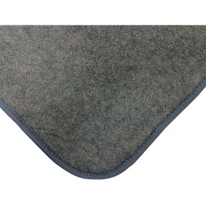 スミノエ 11742925 敷くだけで簡単にふっくらカーペットに早変わり 防音性 手洗い 上下滑りにくい加工付 フカピタ 170×230cm (約3帖用) グレー メーカー直送|sake-premoa