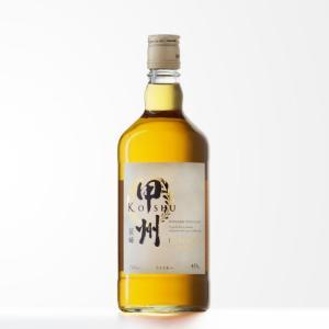 「国産ウイスキー」甲州韮崎 ピュアモルト ウイスキー 40度 700ml「KOSHU NIRASAK...