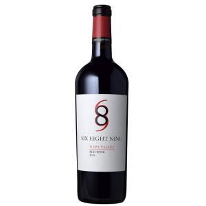【ワイン】シックス エイト ナイン ナパヴァレー レッド 2017(赤ワイン フルボディ アメリカ 750ml ) sake-syou