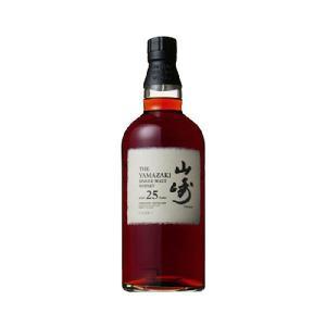サントリー シングル モルト ウイスキー 山崎 25年 43度 700ml|sake-syou