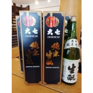 【20%オフクーポン配布】【福島の酒・送料無料】大七「純米生もと」箱入り1.8L  6本セット 大七酒造  |sake-yabuki