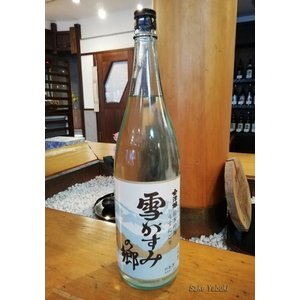 会津娘 雪がすみの郷 純米生酒うすにごり 1.8L 高橋庄作酒造 福島/会津 門田 sake-yabuki