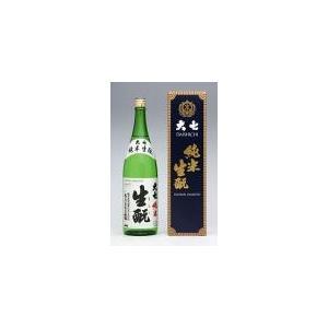 【20%オフクーポン配布】大七「純米生もと」箱入り 1.8L   大七酒造  |sake-yabuki