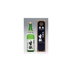 【20%オフクーポン配布】大七「生もと 本醸造」箱入り  1.8L   大七酒造 |sake-yabuki