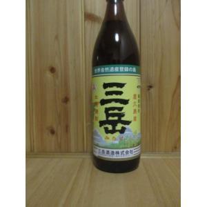 芋焼酎 三岳 900ml|sake-yukigura