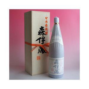 森伊蔵 芋焼酎 1800ml 「森伊蔵純正桐箱入り・一升瓶用」25度|sake480