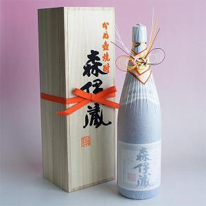 水引おめかし.ver 森伊蔵 1800ml 「森伊蔵純正桐箱入り・一升瓶用」25度|sake480