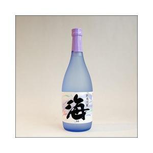 【包装不可】海(うみ umi)720ml・大海酒造 芋焼酎 25度|sake480