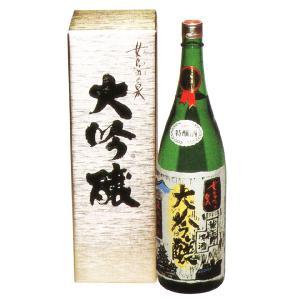 蔵元直送)善哉酒造 女鳥羽の泉(大吟醸酒) 1800ml (日本酒)(長野県産の地酒)|sake