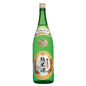日本酒 新潟 朝日山 純米酒 1800ml  |sakeasanoya