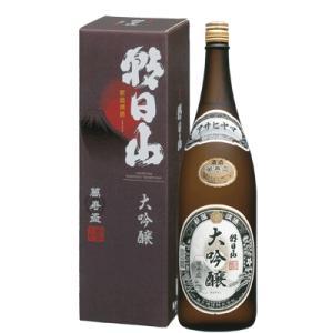 日本酒 新潟 朝日山 大吟醸 萬寿盃 1800ml 化粧箱入り 数量限定|sakeasanoya
