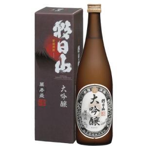 日本酒 新潟 朝日山 大吟醸 萬寿盃 720ml 化粧箱入り 数量限定|sakeasanoya