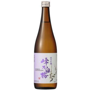 峰乃白梅 純米吟醸酒 720ml 正規取扱店 日本酒 新潟|sakeasanoya