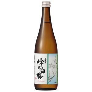 峰乃白梅 本醸造 720ml 正規取扱店 日本酒 新潟|sakeasanoya