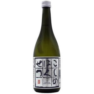 日本酒 新潟 こしのはくせつ 純米吟醸 720ml   正規取扱店|sakeasanoya