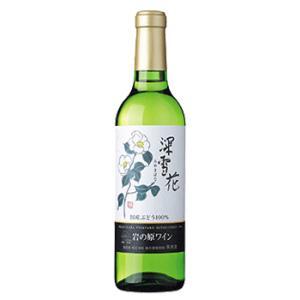 ワイン 新潟 岩の原ワイン 深雪花 白 360ml |sakeasanoya