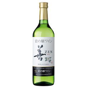 ワイン 新潟 岩の原ワイン 善(ぜん) 白 720ml |sakeasanoya