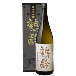 日本酒 新潟 鶴齢 純米大吟醸 1800ml 化粧箱入り  数量限定 正規取扱店 sakeasanoya