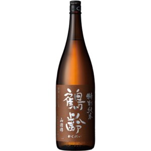 日本酒 新潟 鶴齢 特別純米 山田錦55% 無濾過生原酒 1800ml 正規取扱店 sakeasanoya