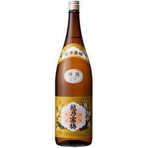 日本酒 新潟 越乃寒梅 白ラベル 普通酒 1800ml|sakeasanoya