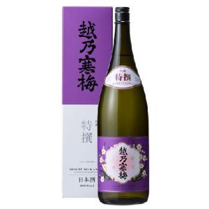日本酒 新潟 越乃寒梅 特撰 吟醸酒 720ml 化粧箱入り 正規取扱店|sakeasanoya