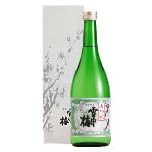 日本酒 新潟 雪中梅 大吟醸 720ml 化粧箱入り 季節・数量限定酒 正規取扱店|sakeasanoya