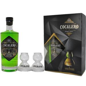 (ギフトボックス)コカレロ Cocalero 700ml 29度 ボムグラス2個付き|sakeclubmitsui