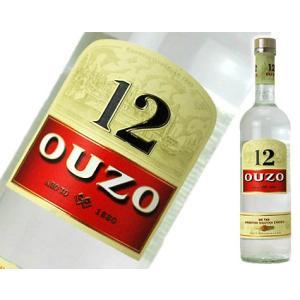ウゾ12   OUZO12 700ml 40度|sakeclubmitsui
