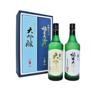 [包装付]芳水 純米大吟醸&芳水 大吟醸 2本セット 各720ml [徳島の銘酒]|sakeclubmitsui