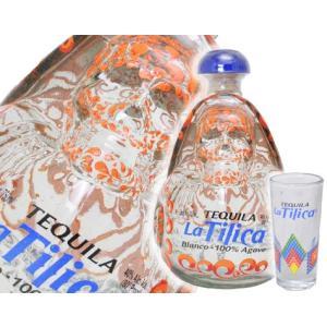 ラ・ティリカ ブランコ 750ml 40度 正規品 ショットグラス付き