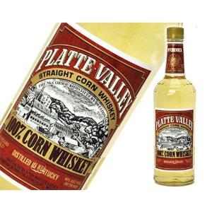 プラットヴァレー 750ml  40度  ストレート・コーン・ウイスキー 箱なし
