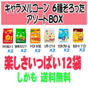 【送料無料】東ハト キャラメルコーン 6種類 アソートセット|sakedepotcom