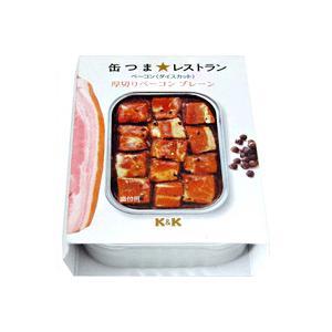 国分 K&K 缶つま☆レストラン 厚切りベーコン プレーン 105g|sakedepotcom