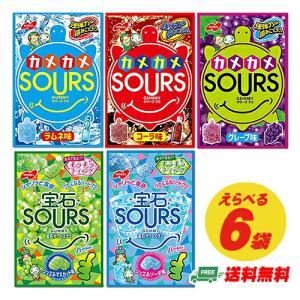 (クリックポスト送料無料)ノーベル製菓 サワーズ SOURS ハードグミ 選べる6袋(代引き・日時指定不可)|sakedepotcom